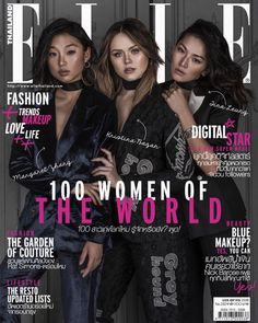 """Margaret Zhang 章凝 auf Instagram: """"Kicking off the week with this month's @ellethailandofficial cover story shot by yours truly @kristina_bazan @tinaleung - thank you team (@bbbobby @aeypannatorn @oohoohlala @superzona) """""""