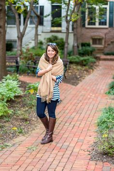 Southern Anchors: {october stripes}