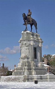 Statue of Robert E. Lee, Richmond, Virginia, 1890.
