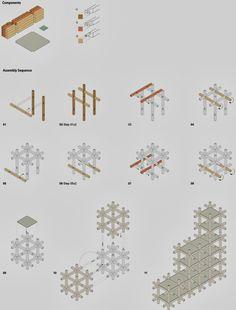 Chidori furniture - Kengo Kuma