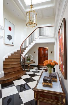 Entry and Hall in New York, NY by Cullman & Kravis Inc.