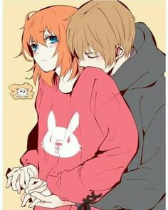 Uploaded by RyiaChiba. Find images and videos about couple, anime and gintama on We Heart It - the app to get lost in what you love. Couple Amour Anime, Couple Manga, Anime Love Couple, Couple Art, Manga Anime, Fanarts Anime, Anime Cosplay, Kawaii Anime, Anime Disney