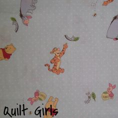 Pooh Caterpillar and Bees Fabric to sew - Quilt Girls - 1