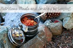 How to Make Your Own Survival Food (MREs) for Cheap --- DIY survival food instructions; learn how to make your own nutritious, tasty Meals Ready to Eat with just a dehydrator, sealing bags, and basic ingredients. Camping Meal Planning, Best Camping Meals, Camping Menu, Backpacking Food, Camping Recipes, Camping Foods, Family Camping, Camping Site, Camping Hacks