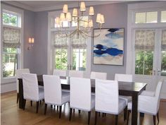 Watercolor : Dining Room