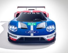 Ford returns to Le Mans in 2016 with the all-new Ford GT for the 50th anniversary of its 1966 victory. - GT_LE_MANS_studio_straighton_800