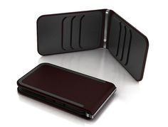 Dosh Whiskey 6 Card Lux Stainless Steel Money Clip Wallet