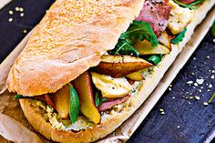 Seared Pear, Pastrami And Blue Cheese Loaf Recipe on Yummly