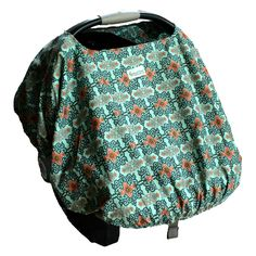 My Sweet Dreams Baby - 4 in 1 Cover Blue Kashmirm Infant Car Seat Cover (http://www.mysweetdreamsbaby.com/sproutshell.htm)