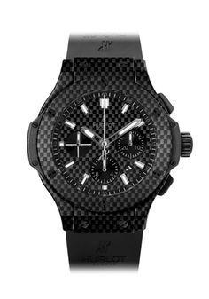 Hublot Big Bang 44mm All Carbon with White Numerals at osterjewelers.com