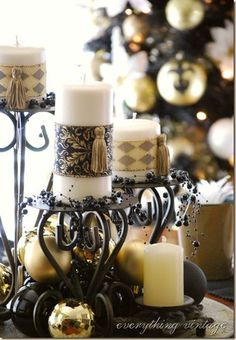 Christmas conversion of candles used during the year - decorative sleeve can be removed after the festive season.