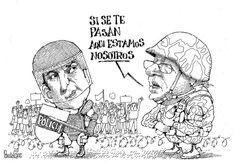 El Ejército colabora, enmiendas - Pancho Cajas