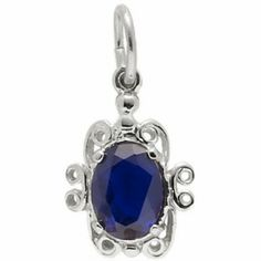 Rembrandt Birthstone Charm, Sterling Silver - Precious Accents  $27.50