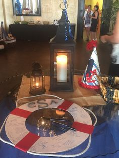 Nautical Sailor theme party