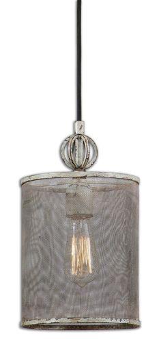 Pontoise Rustic Mini Pendant Lighting Fixture by Uttermost