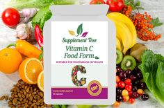 Vitamin C (Food Form) 60 Capsules - Great Selection of Vitamins & Dietary Supplements - Best Value Supplements UK Manufactured with GMP Quality Assurance - Free Delivery on All UK Orders Vitamin C Foods, Plant Sterols, Natural Vitamins, Whole Food Recipes, Essential Oils, Happiness, Vegetarian, Vegan, Health