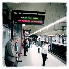 Metro de Madrid #enhuelga