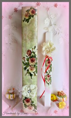 Decoupage Easter candle and candle box - Αναζήτηση Google