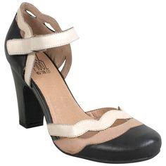 Miz Mooz Women's Janie Ankle-Strap Pump Shoe