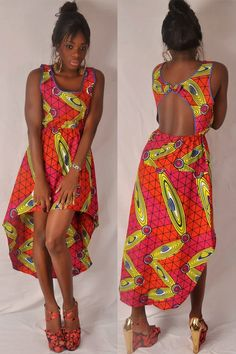 Dos Nu  African  Dress. by fifiMdesigns on Etsy, $130.00