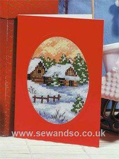 Buy Mountain Lodge Card Kit online at sewandso.co.uk