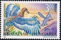 Sello: Archaeopteryx (Bulgaria) (Flora and fauna) Mi:BG 4110,Yt:BG 3564