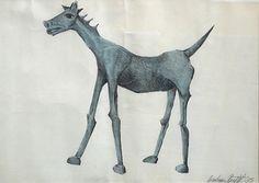 Graham Knuttel - Duke Street Art Ltd Horse Watercolour, Watercolor, Street Gallery, Horse Art, Throwback Thursday, Urban Landscape, Graham, Street Art, Sculptures