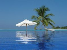 The Pool,  where you always have the feeling that you were alone.    Location: Rangali Island, Maldives