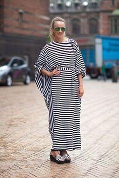 Ideas to Wear Kaftan Dresses