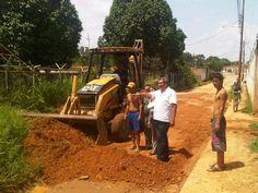 Operativo de limpieza realizado en el sector Caño de Indio, trabajo que le corresponde al Gobierno Municipal.