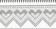 Artesanato em crochê, pintura e tecido. Apliques de crochê, gráficos e trabalhos em Patchork, panos de prato e jogos de cozinha. Filet Crochet, Knit Crochet, Swedish Embroidery, Graph Paper, Projects To Try, Crochet Patterns, Stitch, Knitting, Crochet Lace Edging