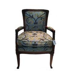 Parisia Chair, circa 1890 $1000 - Chicago http://furnishly.com/catalog/product/view/id/1296/s/parisia-chair-circa-1890/