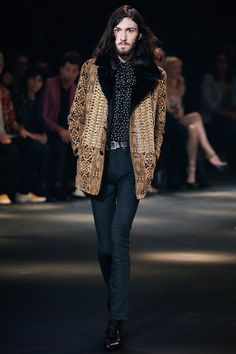 Saint Laurent FW16.  menswear mnswr mens style mens fashion fashion style runway saintlaurent hedislimane