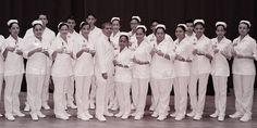 Ceremonia de imposición de cofias como iniciación a prácticas de alumnos de Enfermería.