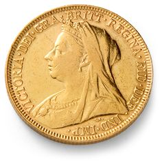 gold+numismatics | ... Veiled Head Gold Sovereign Coin | Queen Victoria Gold Sovereigns
