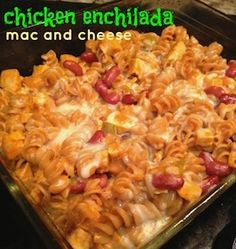 Chicken Enchilada Mac and Cheese