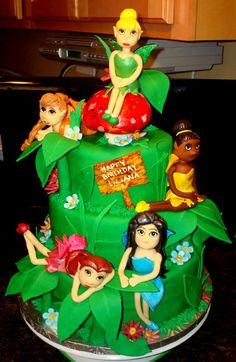 Tinkerbell Fairies cake