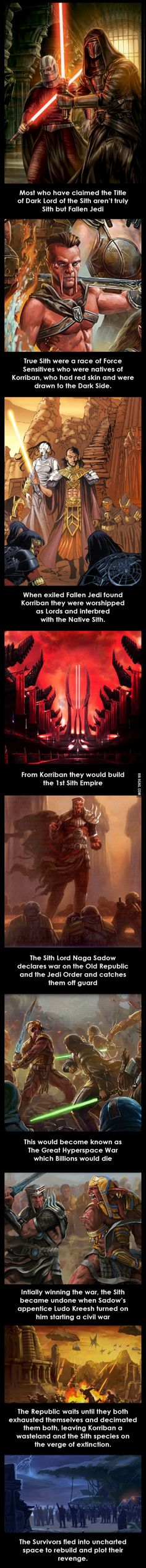 The Origins of the Sith (Star Wars)
