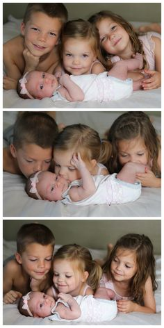 Newborn Photos: Sibling Love