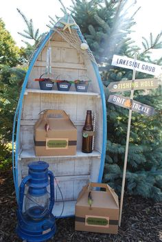 Vintage Fishing Party #vintagefishing #party