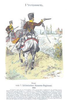 Vol 02 - Pl 29 - Preußen. Husar vom 1. Schlesischen Husaren-Regiment (Nr. 4). 1813.