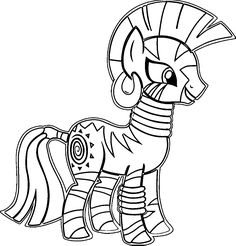 Zecora Coloring Pages