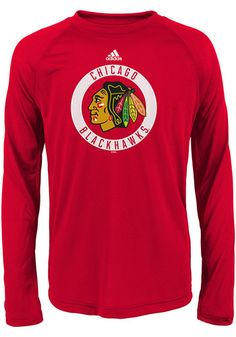 Chicago Blackhawks Youth Red Practice Graphic Long Sleeve T-Shirt - 13346478 5f956aed7