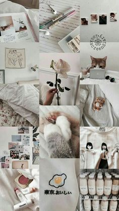 Discovered by Monique Araujo. Find images and videos about white, aesthetic and wallpaper on We Heart It - the app to get lost in what you love. Iphone Wallpaper Tumblr Aesthetic, Iphone Background Wallpaper, Aesthetic Pastel Wallpaper, Tumblr Wallpaper, Galaxy Wallpaper, Aesthetic Wallpapers, Cat Wallpaper, White Wallpaper Iphone, Inspirational Phone Wallpaper