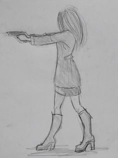 By Yenthe Joline. By Yenthe Joline. Art Drawings Sketches Simple, Sad Drawings, Pencil Art Drawings, Abstract Face Art, Emo Art, Cartoon Girl Drawing, Art Prompts, Girl Sketch, Learn Art