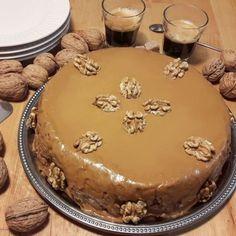Gâteau moelleux aux noix et au café – Toute la cuisine que j'aime