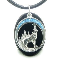Howling wolf amulet