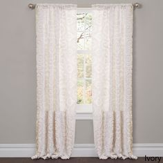 Lush Decor Stella 84-inch Curtain Panel - Overstock™ Shopping - Great Deals on Lush Decor Curtains