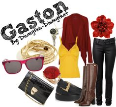 """""""Gaston""""  DisneyThis-DisneyThat on Tumblr"""