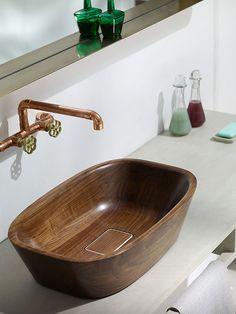 wood sinks for bathroom theydesign